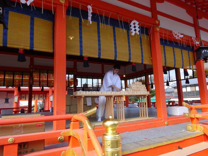 神社 外拝殿